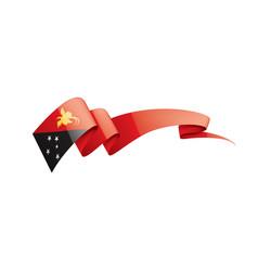 Papua new guinea flag vector