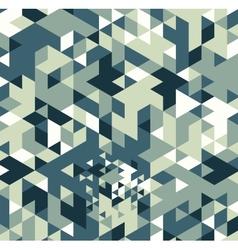 Triangle retro background vector image