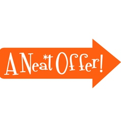 Sale offers vector image vector image