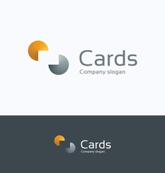C cards logo vector