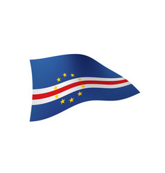 Cape verde flag vector