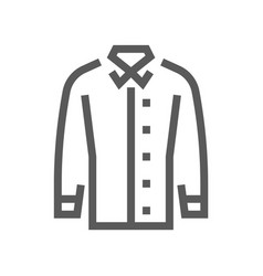 Fashion and clothes line icon vector