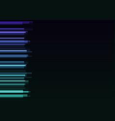 Frequency bar overlap in dark background vector