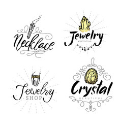 Geometric polygonal crystals vector
