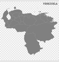 high quality map with borders vector image