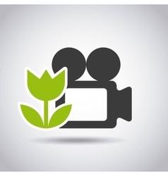 Settings camera design vector