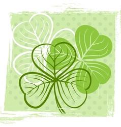 Three leaf clover vector