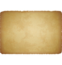 Aged paper with torn edges vector image vector image