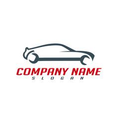 mechanic car design vector image vector image