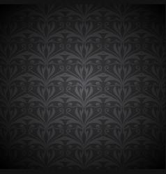 ornate floral background vector image
