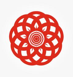abstract circular 0029 vector image