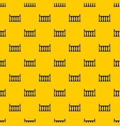 Balustrade pattern vector