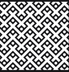 decorative seamless pattern in scandi style vector image