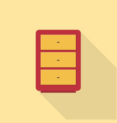 drawer icon set of great flat icons use for vector image