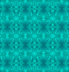 Glowing pattern floral seamless vector image