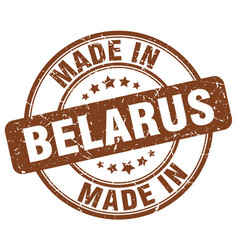 Made in belarus vector