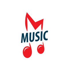 sign music of musical notes vector image