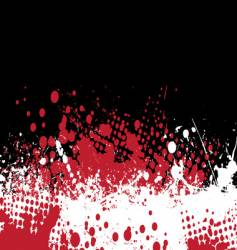 blood tone vector image vector image