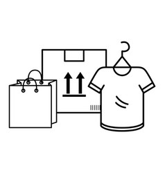 ecommerce online shopping vector image