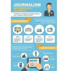 Journalist Infographic Elements vector