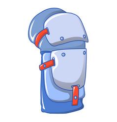 Knee protector icon cartoon style vector