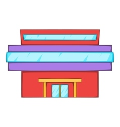 Market icon cartoon style vector