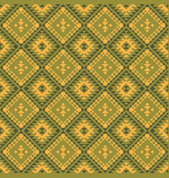 native american indian aztec geometric seamless vector image