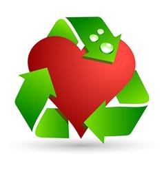 Save love symbol vector