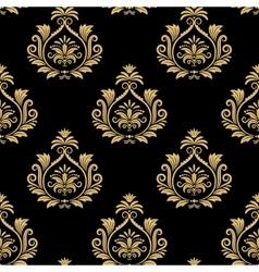 Seamless baroque background vector