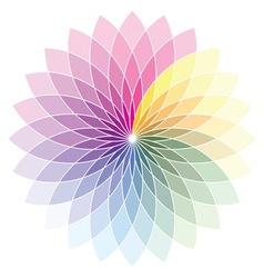 Skala boje cvet2 resize vector image