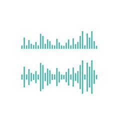 Sound wave ilustration vector