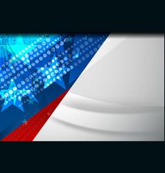 america flag vector image