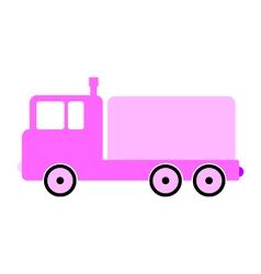 Cargo car symbol icon vector image vector image