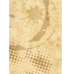 grunge background with space for text or image vector image vector image