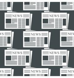 Newspaper background vector image vector image