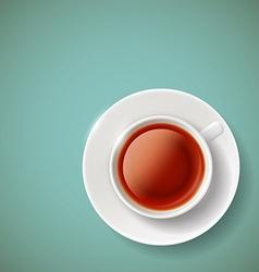 red tea Stock vector image vector image