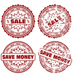 collect stamps vector image vector image