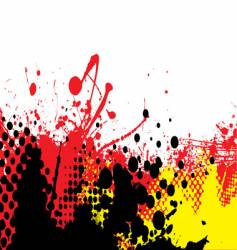 hot tone vector image vector image