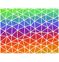Abstract colored geometric low polygonal vector image