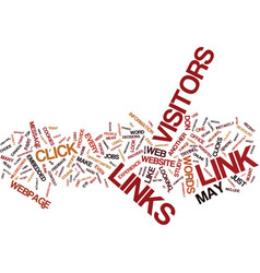 Links here there and everywhere text background vector