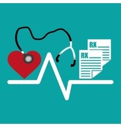 Medical design Care icon Health concept vector