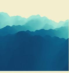 Mountain landscape mountainous terrain abstract vector