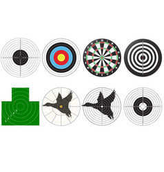 Set targets for shooting vector
