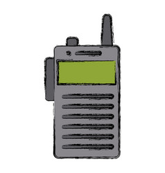 walky talky isolated vector image