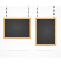Black Board Sign vector image