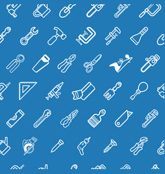 tilable tools background texture vector image vector image