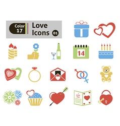 Valentines icon vector image vector image