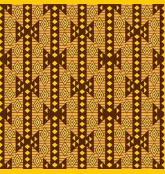 african textile design ornamental seamless vector image
