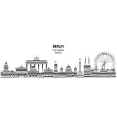 Berlin city gradient 6 vector
