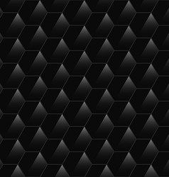Black hexagonal texture vector